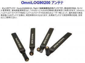 薄型プレート広帯域アンテナOmniLOGシリーズ